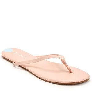 New Esprit Blush Flip Flops Sz 8 Womens Sandals